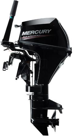 Mercury F8 / F9.9 mit 209cm²